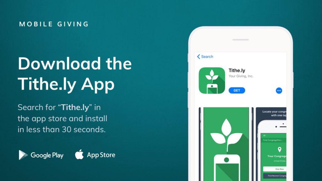 Mobile App giving
